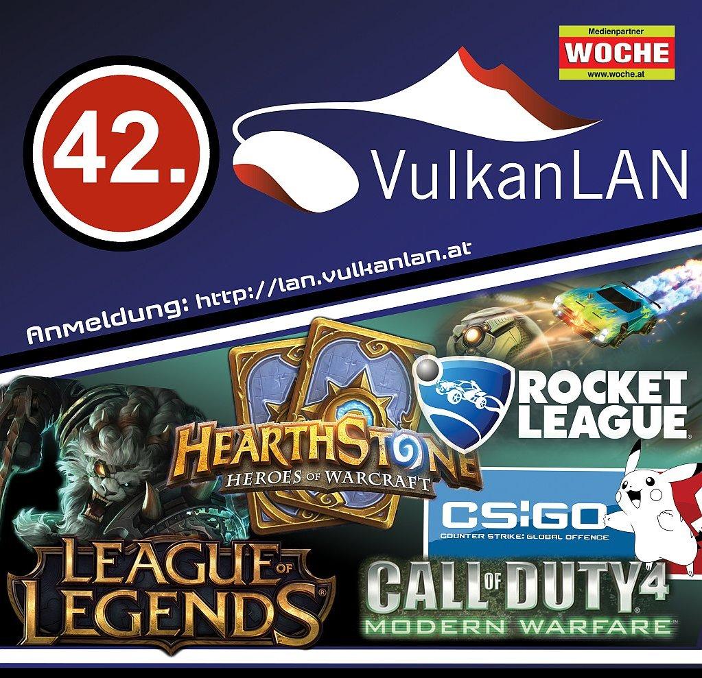 42.VulkanLAN Plakat