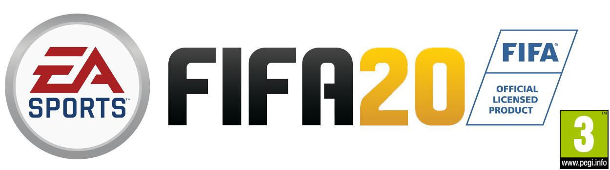 EA Games FIFA 20 with PEGI