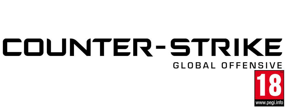 logo cs go with PEGI