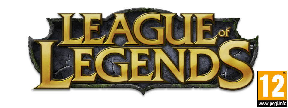 logo league of legends with PEGI